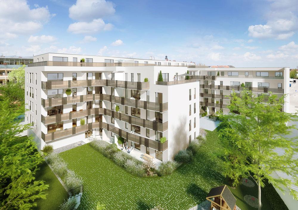 Kundenbetreuung, Ausstattungsmanagement und Sonderwunschabwicklung fuer das Bauvorhaben Isar Docks in München bei Site Interiors