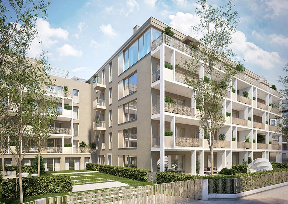 Ausstattungsmanagement, Sonderwunschmanagement und After Sales Kundenbetreuung fuer das Bauvorhaben Troger Hoefe durch Site Interiors