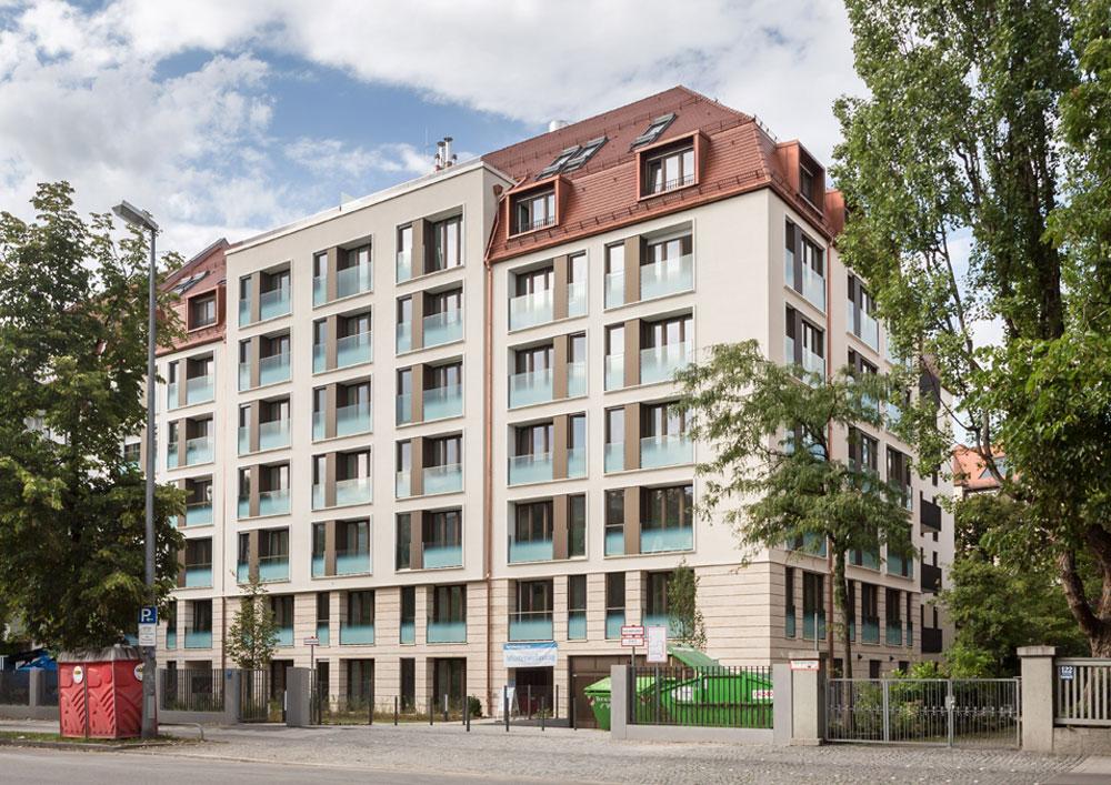 Kundenbetreuung für Bauträger Projekt Nymhenburger Straße München