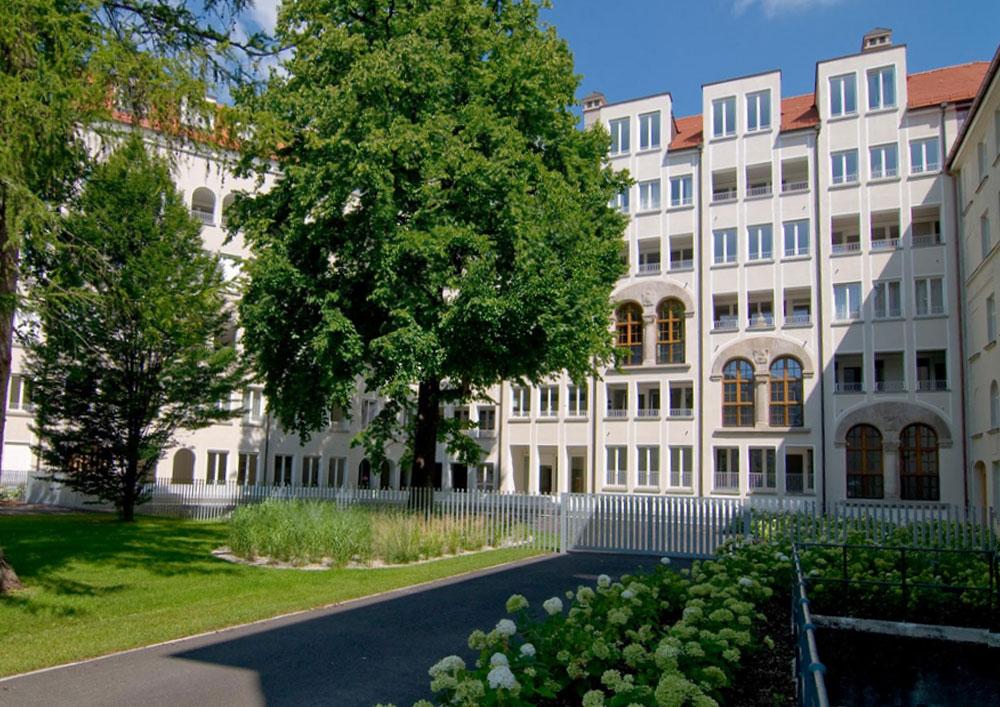 Kundenbetreuung für Bauträger, Klostergarten St. Anna München