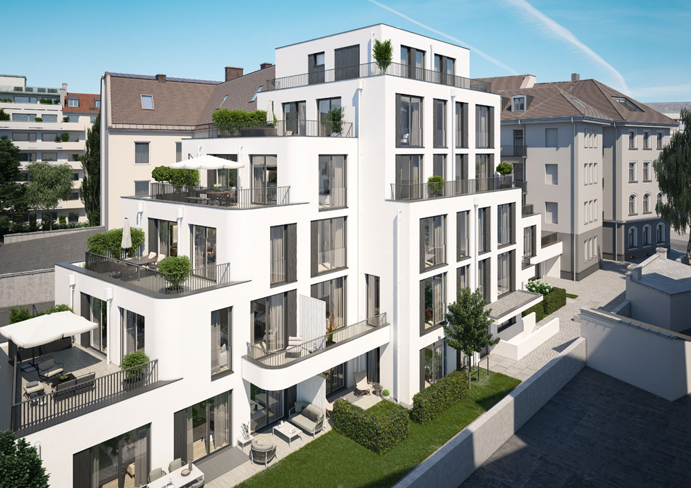Site Interiors: Käuferbetreuung Wohnbauprojekt Barer Höfe